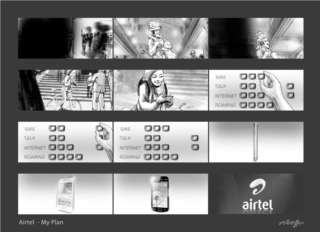 Airtel New Ad 2013 My Plan003
