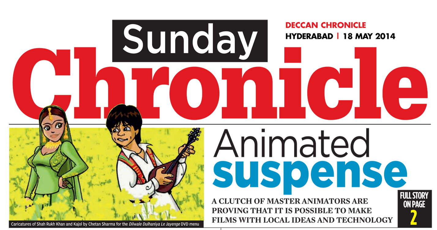 Deccan Chronicle- Gayatri interview-18th May2014